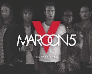 Maroon 5 2017 World Tour