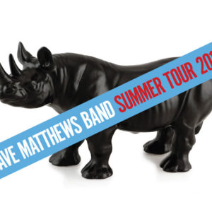 Dave Matthews Band Summer Tour 2018