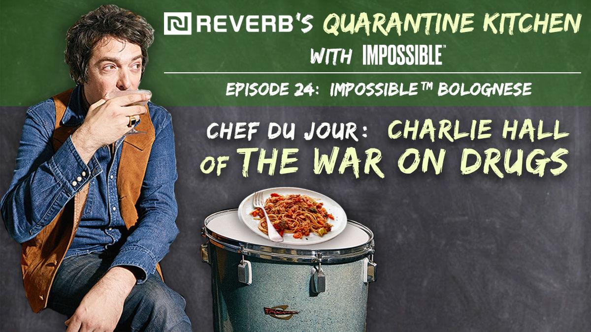 charlie hall quarantine kitchen
